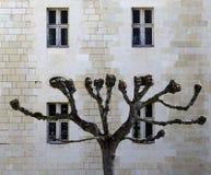 Abbaye de Fontevraud, Valle del Loire, Francia Foto de archivo