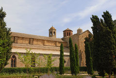 Abbaye de Fontfroide Lizenzfreie Stockbilder