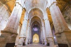 Abbaye de Fontfroide, Francia Imágenes de archivo libres de regalías