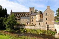 Abbaye de Jedburgh images stock