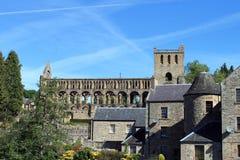 Abbaye de Jedburgh image libre de droits
