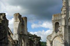 Abbaye de Jumieges Photos libres de droits