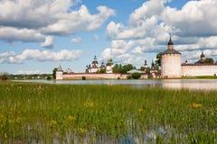Abbaye de Kirillov photographie stock