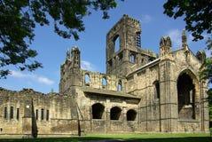 Abbaye de Kirkstall, Leeds, Grande-Bretagne Images libres de droits