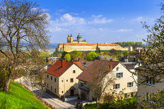 Abbaye de Melk - site d'héritage de l'UNESCO en Autriche image stock