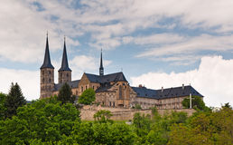 Abbaye de Michaelsberg, Bamberg Photographie stock libre de droits