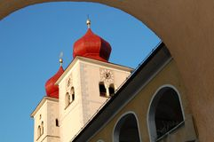 Abbaye de Millstatt   Image stock