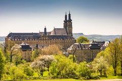 Abbaye de Monatery Banz de Bénédictine photo libre de droits