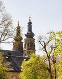 Abbaye de Monatery Banz de Bénédictine Images stock