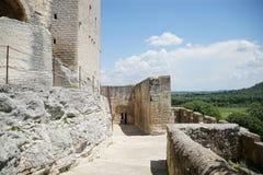 Abbaye de Montmajour em França imagem de stock royalty free
