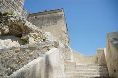 Abbaye de Montmajour i Frankrike Royaltyfri Fotografi