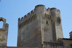 Abbaye de Montmajour i Frankrike Royaltyfria Bilder