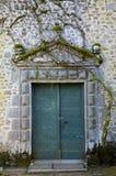 Abbaye de Moutier-d'Ahun Stock Photo