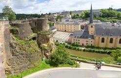 Abbaye de Neumunster i Luxembourg Royaltyfria Foton