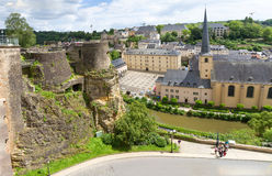 Abbaye de Neumunster in Luxembourg. Royalty Free Stock Photos
