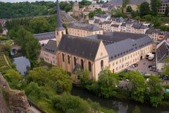 Abbaye de neumunster, Luxemburg Royaltyfria Bilder