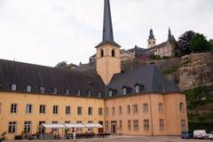 Abbaye de Neumunster, Luxemburg Lizenzfreie Stockfotos