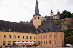 Abbaye de neumunster, Luxemburg Royaltyfria Foton