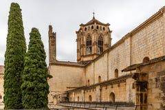 Abbaye de Poblet en Espagne photo stock