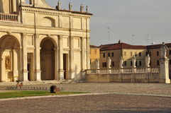 Abbaye de Polirone San Benedetto PO, Mantua, Italie Photos libres de droits