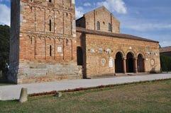 Abbaye de Pomposa - monastère bénédictin, Italie Photographie stock libre de droits