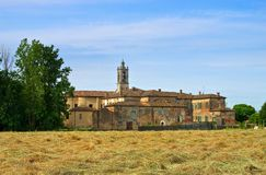 Abbaye de Priorato Photo libre de droits
