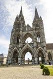Abbaye de Rue-Jean-DES Vignes dans Soissons Image stock