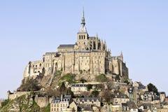 Abbaye de Saint Michel de Mont Images libres de droits