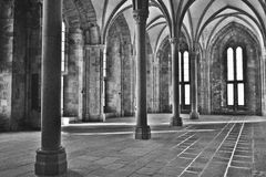 Abbaye de Saint Michel de Mont Photo stock