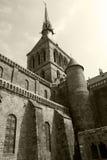 Abbaye de Saint-Michel de Mont Images libres de droits