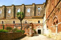 Abbaye de San Galgano Images libres de droits
