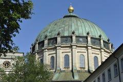Abbaye de Sankt Blasien, forêt noire, Allemagne Photographie stock