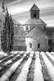 Abbaye de Senanque Imagen de archivo libre de regalías