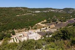 Abbaye de Senanque, Provence, Frankrike Royaltyfri Bild