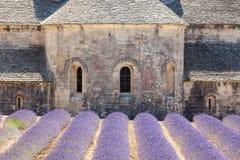Abbaye de Senanque, Provence, Frankrike Royaltyfri Fotografi