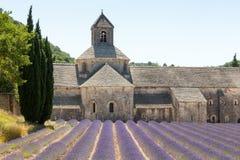 Abbaye de Senanque, Provence, Frankrike Royaltyfria Bilder