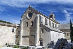 Abbaye de Senanque, pueblo de Gordes, Provence, Francia Imagenes de archivo