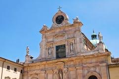 Abbaye de St Giovanni Evangelista. Parme. Émilie-Romagne. L'Italie. Images libres de droits