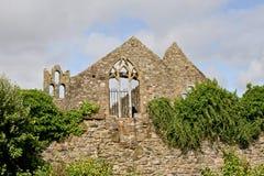 Abbaye de St Marys, Howth, Dublin Images libres de droits