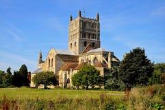 Abbaye de Tewkesbury photo stock