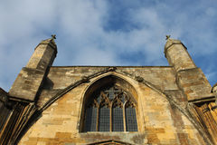 Abbaye de Tewkesbury, Angleterre, détail architectural photo stock