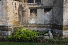 Abbaye de Tewkesbury, Angleterre, détail architectural photos stock