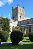 Abbaye de Tewkesbury, Gloucestershire, Angleterre Images stock