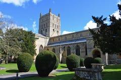 Abbaye de Tewkesbury, Gloucestershire, Angleterre Image stock