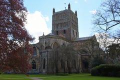 Abbaye de Tewkesbury, Gloucestershire, Angleterre Photos libres de droits