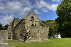 Abbaye de Valle Crucis Photo libre de droits