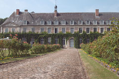 Abbaye De Valloires fotografia royalty free