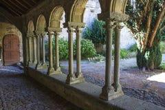 Abbaye de Villelongue, France image stock