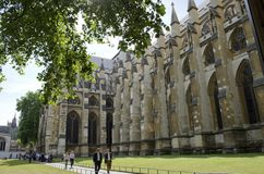 Abbaye de Westminster Photos libres de droits