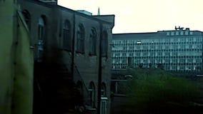 Abbaye de Westminster archivistique à Londres banque de vidéos